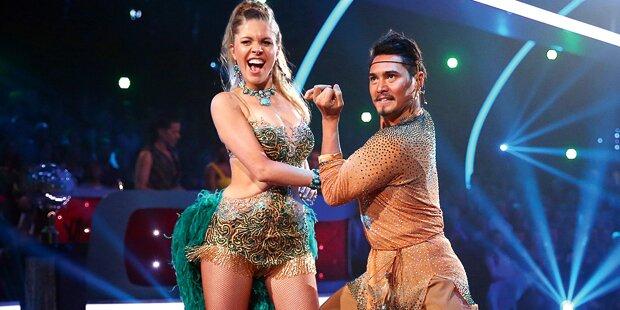 Kristall-Erbin tanzt sich ins Halbfinale