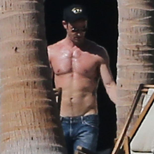 Justin Theroux: Sexy Sixpack
