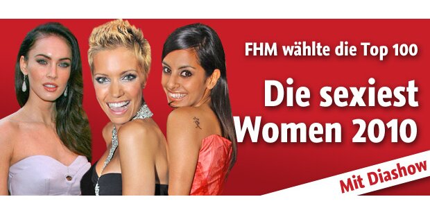 Das sind die FHM Sexiest Women 2010