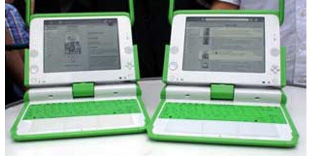 XP wird auf 100-Dollar-Laptop getestet