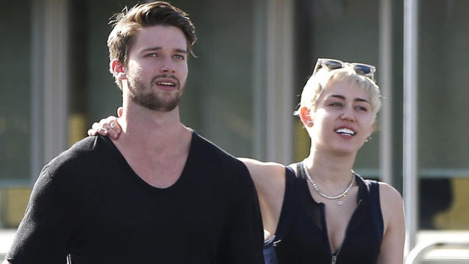 Miley macht Schluss mit Arnie-Sohn