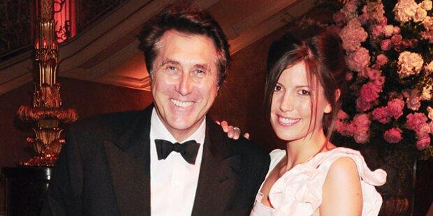 Bryan Ferry heiratet die Ex von Sohn