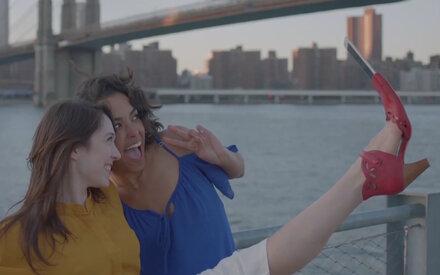 Jetzt kommt der Selfie-Schuh