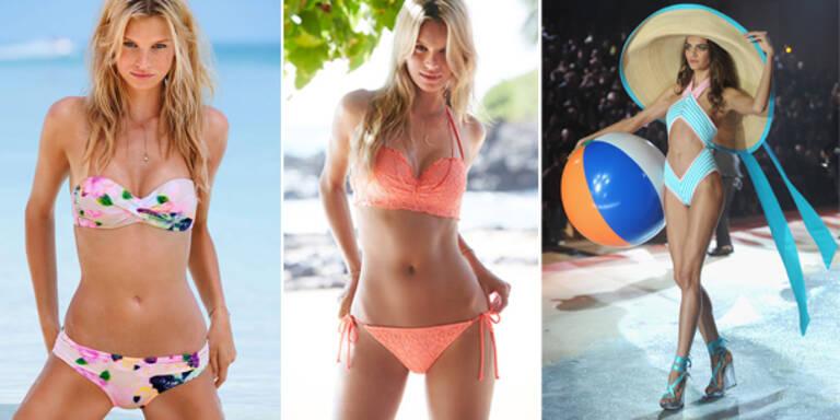 Jetzt kommt die Victoria's Secret Bikini-Show