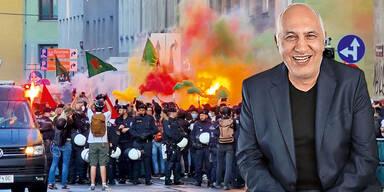 Nurettin Civandag  Favoriten Demo Journalist verprügelt