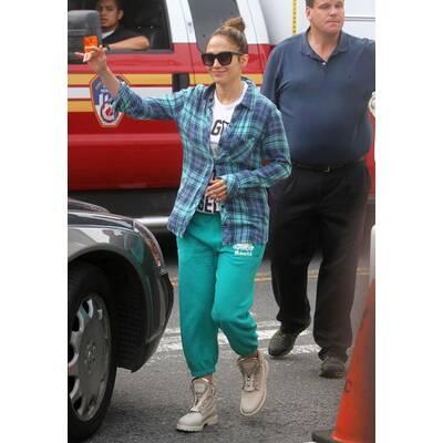 Jennifer Lopez im Gammel-Look