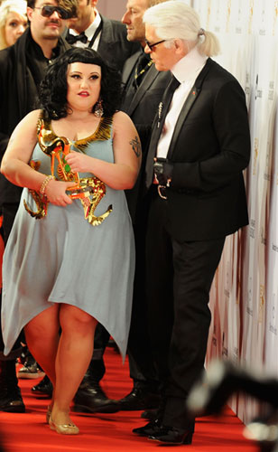 Beth Ditto Karl Lagerfeld