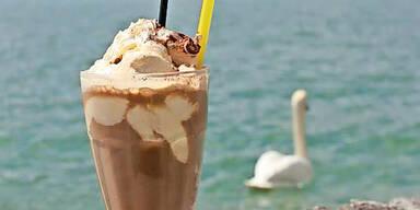 Eiskaffee Wolfgangsee