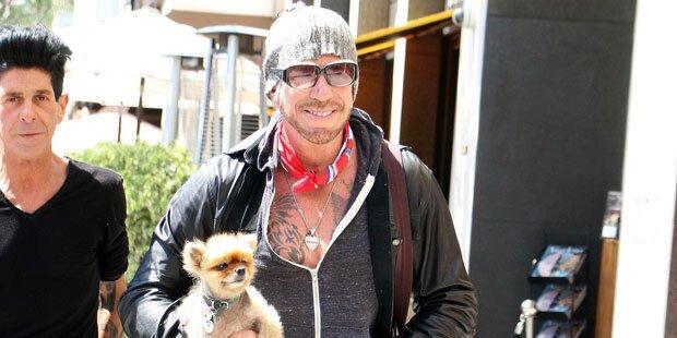 Rourke: Hund hielt ihn von Suizid ab