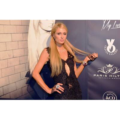 Paris Hilton als Goth-Braut