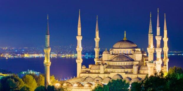 Zum Shoppen nach Istanbul