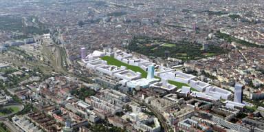 10 Hektar Öffentlicher Grünraum geplant