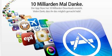 App Store: 10 Milliarden Downloads erreicht