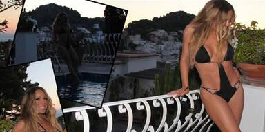 Mariah Carey: Top-Figur in Monokini