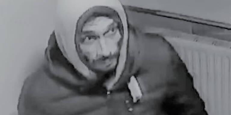 Polizei sucht diesen Einbrecher