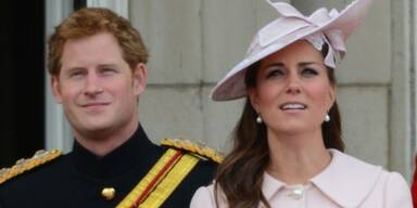 Kates Baby: Prinz Harry nicht dabei!