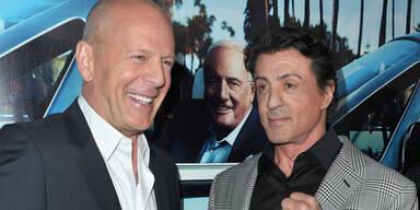 Bruce Willis & Sylvester Stallone