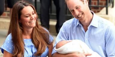 Luxusurlaub für Baby-George!