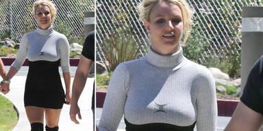 Britney Spears im freizügigen Kirchen-Outfit