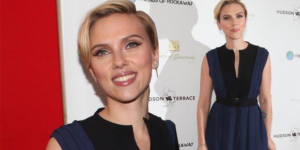 Scarlett Johansson: So schön nach Baby