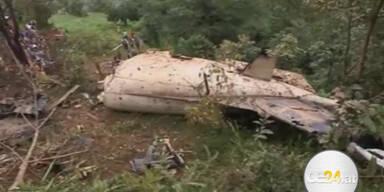 19 Tote bei Flugzeugabsturz