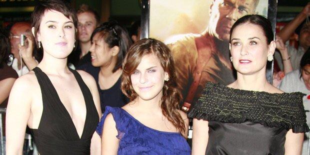 Demi Moore: Zerstört sie ihre Töchter?