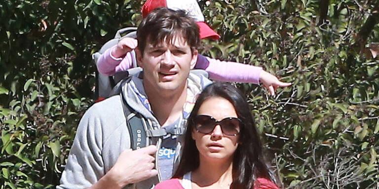 Kutcher & Kunis: 2. Baby unterwegs