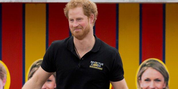 Prinz Harry: Sein Fitnesswahn