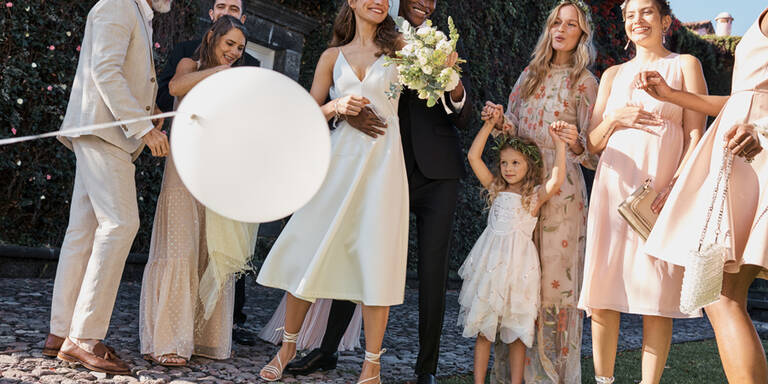 So schön sind die H&M-Brautkleider