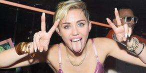 Miley Cyrus: Harte Kritik auf offener Straße