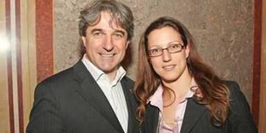 Minister Erwin Buchinger und seine junge Freundin