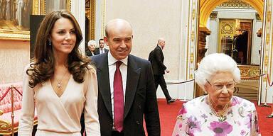 Kate Middleton & Queen Elizabeth II.