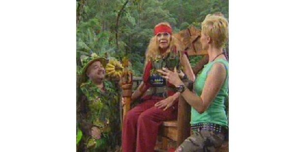 Ingrid ist die Dschungelqueen