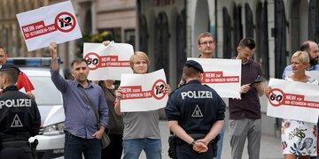 12-Stunden-Tag: Sonderzug für Großdemo in Wien