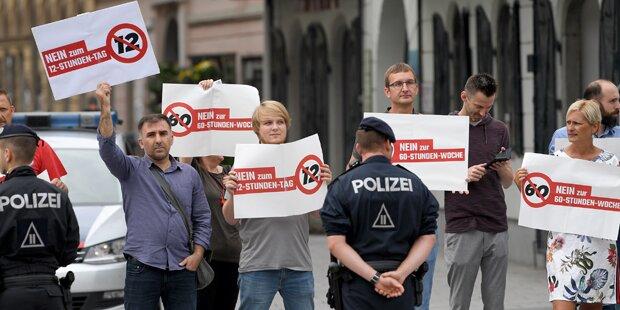 Sonderzug für Großdemo in Wien
