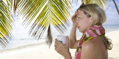 Das sind die häufigsten Urlaubs-Weh Wehchen
