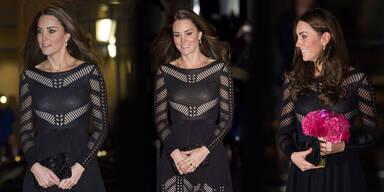 Kate strahlt in 753-Euro-Kleid