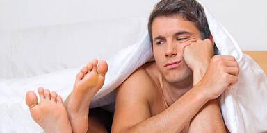 Das killt seine Lust im Bett