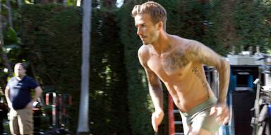 Guy Ritchie jagt Beckham in Unterhosen durch die Straßen