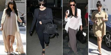 Kim trägt endlich Umstands-Mode