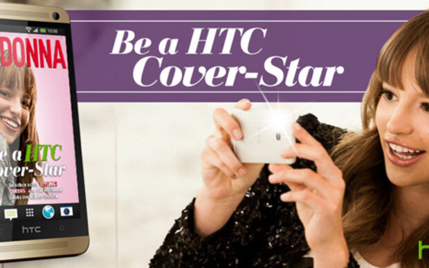 Be a HTC Cover-Star