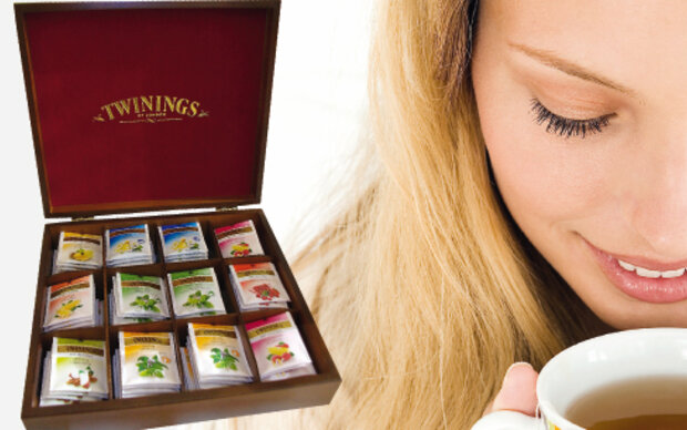 Twinings-Teekassetten gewinnen
