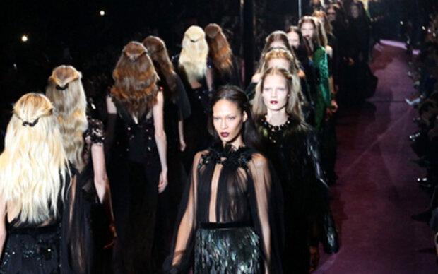 Live aus Mailand: Gucci Fashion-Show