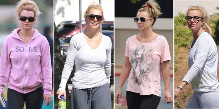Britney nur noch im Jogger