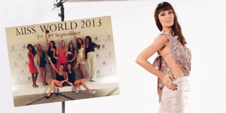 Am Weg zur Miss World