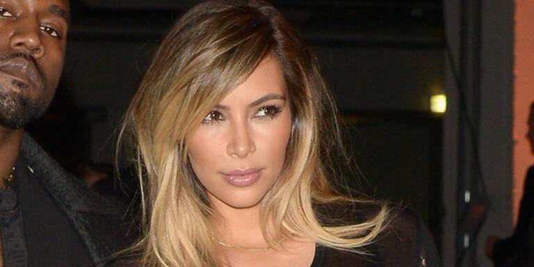 Kim spendet nur 10% von ihrer Charity