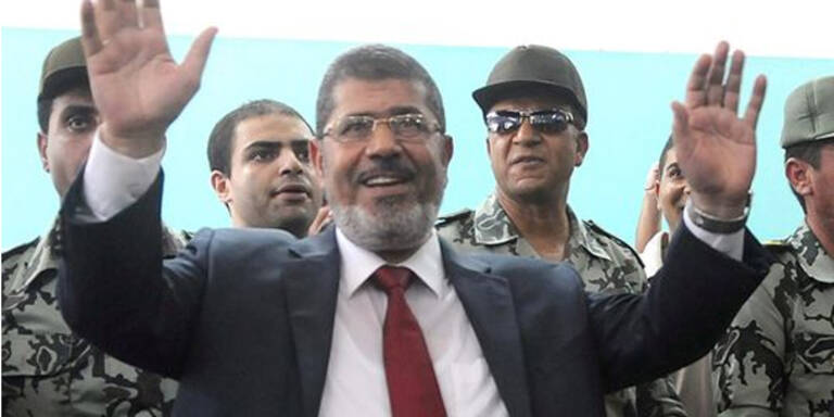Neuer Präsident Mursi vereidigt