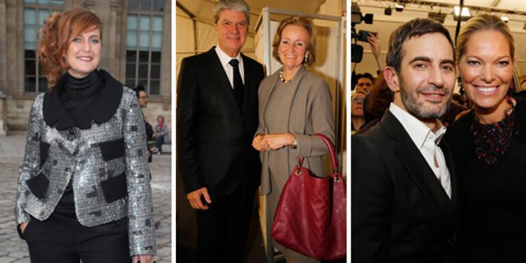 Louis Vuitton Show begeisterte Österreich-Vips