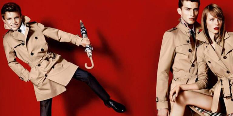 Romeo Beckham: Neues Gesicht für Burberry