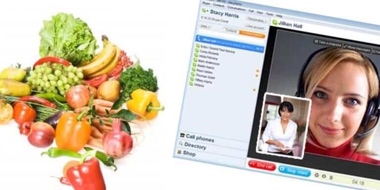 Das ist die Skype-Diät